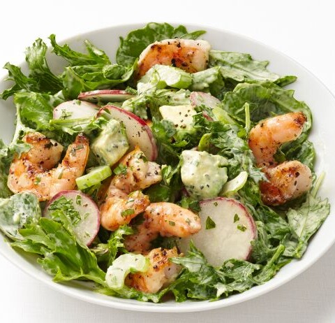 Shrimp and Avocado Salad